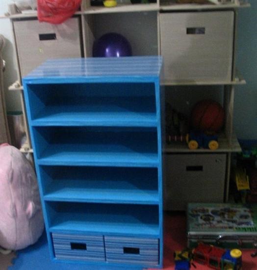 用废纸盒手工制作鞋柜; 鞋盒手工制作图片展示下载; 用废纸盒制作手工