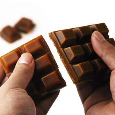 巧克力形状的磁铁